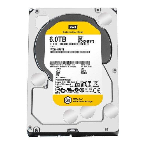 WD Se Datacenter Internal Hard Drive - 6TB