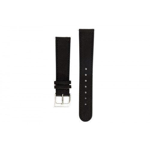 Withings Fine Calf Leather Wristband for Activité Watches - Black Leather
