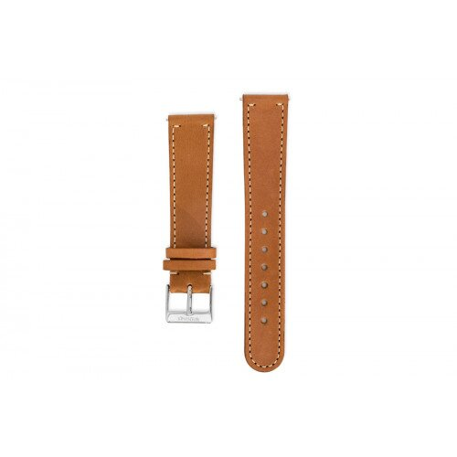 Withings Fine Calf Leather Wristband for Activité Watches - Tawny Brown Leather