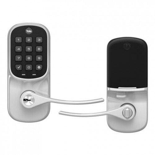 Yale Assure Lever Keypad - Wi-Fi And Bluetooth - Satin Nickel