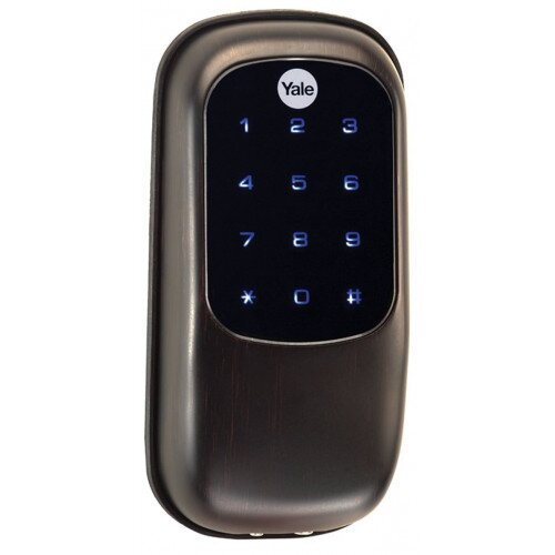 Yale Real Living Key Free Deadbolt - Oil Rubbed Bronze