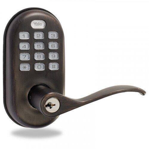 Yale YRL210 Push Button Lever Lock Stand Alone
