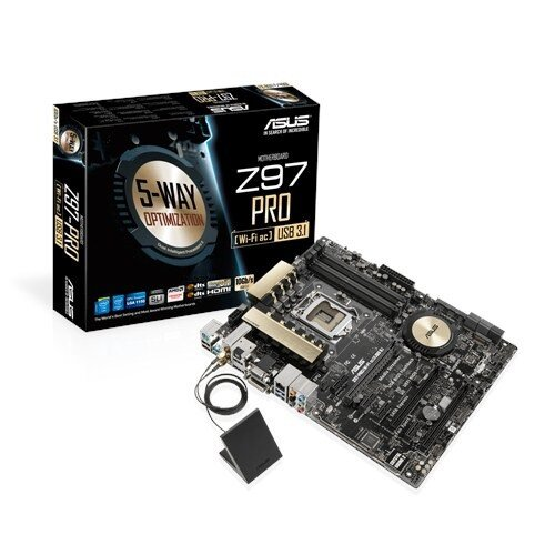 ASUS Z97-PRO(Wi-Fi ac)/USB 3.1 Motherboard