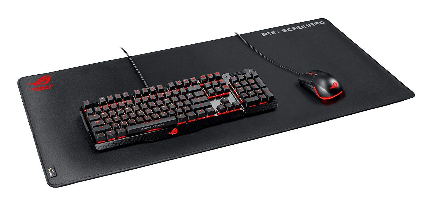 Buy ASUS ROG Scabbard Extra-Large Anti-fray Slip-free Spill-Resistant  Gaming Mouse Pad online in Pakistan - Tejar.pk