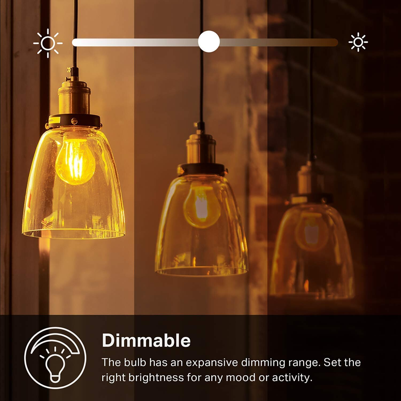 TP-Link Kasa Filament Smart Bulb KL50 Review - YouTube