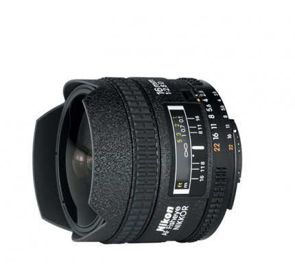 Nikon AF Fisheye-Nikkor 16mm f/2.8D Digital Camera Lens