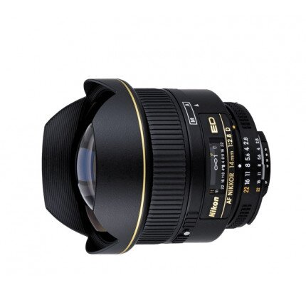 Nikon AF Nikkor 14mm f/2.8D ED Digital Camera Lens