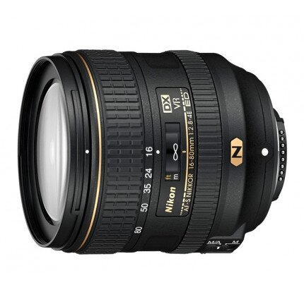 Nikon AF-S DX NIKKOR 16-80mm f/2.8-4E ED VR Digital Camera Lens