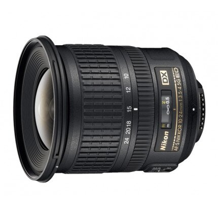 Nikon AF-S DX NIKKOR 10-24mm F3.5-4.5G ED Digital Camera Lens