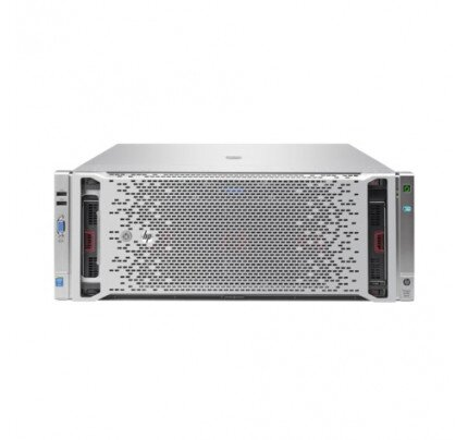 HP ProLiant DL580 Gen9 E7-4850v3 4P 128GB-R P830i/4G 534FLR-SFP+ 1200W RPS Server