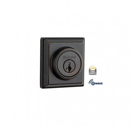 Kwikset Contemporary Signature Series Deadbolt with Home Connect
