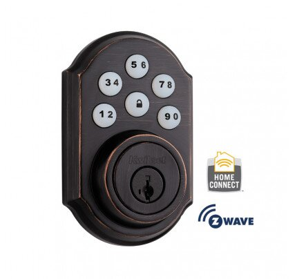 Kwikset Traditional SmartCode Deadbolt with Z-Wave Technology
