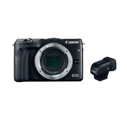 Canon EOS M3 Body with Electronic Viewfinder EVF-DC1 M3 Mirrorless Camera