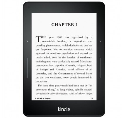 "Amazon Kindle Voyage E-Reader, 6"" High-Resolution Display (300 ppi) with Adaptive Built-in Light, PagePress Sensors, Wi-Fi"
