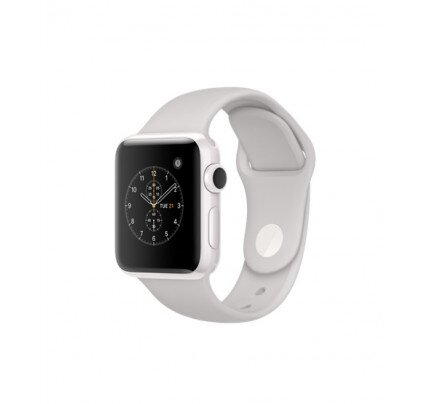 Apple Watch Edition Series 2 White Ceramic Case with Cloud Sport Band
