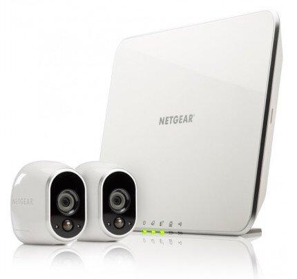 Netgear Arlo Smart Security System with 2 Arlo Cameras