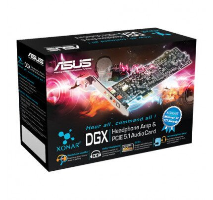 ASUS PCI Express 5.1-Channel Gaming Audio Card