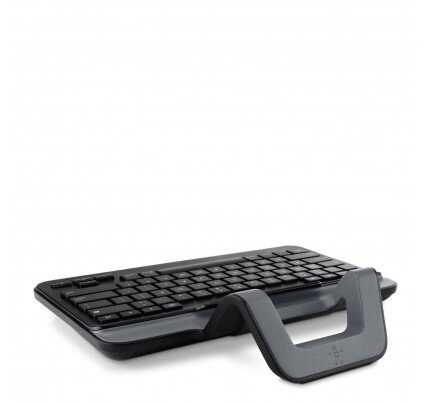 Belkin Wired Tablet Keyboard w/ Stand for iPad (Lightning Connector)