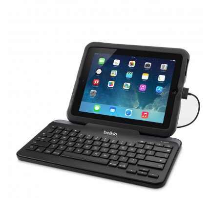 Belkin Wired Tablet Keyboard w/ Stand (30-Pin Connector)