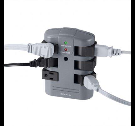 Belkin 6-Outlet Pivot-Plug Surge Protector