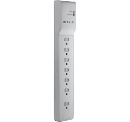 Belkin 7 Outlet Home/Office Surge Protector 6' Cord