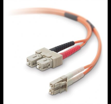 Belkin Fiber Optic Cable; Multimode LC/SC Duplex MMF, 62.5/125