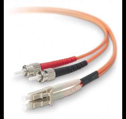 Belkin Fiber Optic Cable; Multimode LC/ST Duplex MMF, 62.5/125