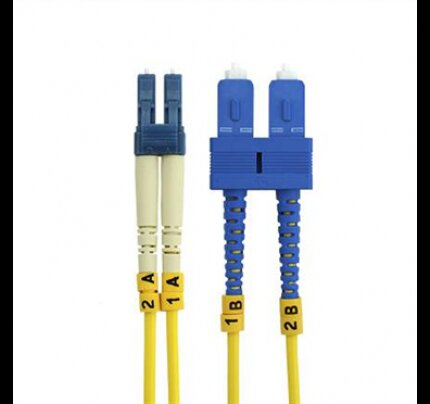 Belkin Fiber Optic Cable; Singlemode SC/LC Duplex, 8.3/125