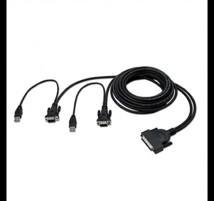 Belkin OmniView Dual Port Cable, USB