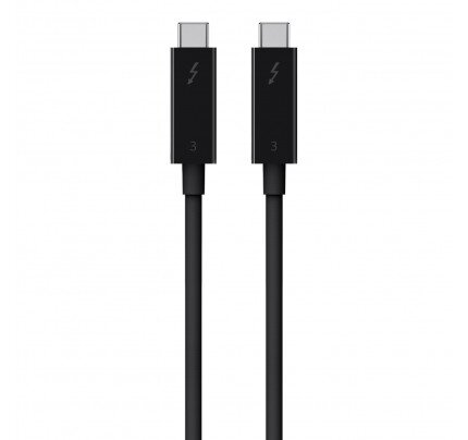 Belkin Thunderbolt 3 Cable (USB-C to USB-C) (100W) (1.6ft/0.5m)