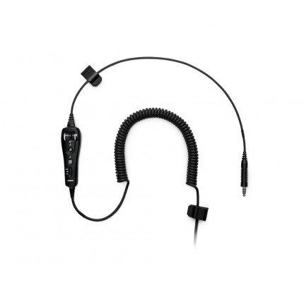 Bose A20 headset cable, U174 plug, Bluetooth
