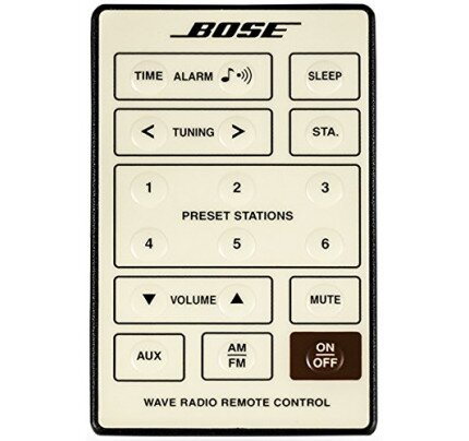 Bose Wave radio remote