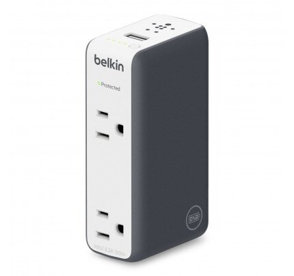 Belkin Travel RockStar Battery Pack + Charger + Surge