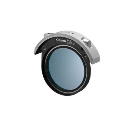 Canon 52mm Drop-In Circular Polarizing Filter PL-C 52WII