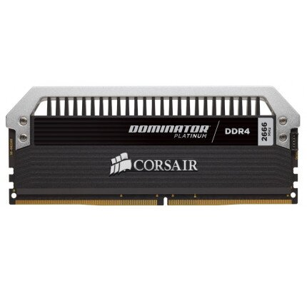 Corsair Dominator Platinum Series 128GB (8 x 16GB) DDR4 DRAM 2666MHz C15 Memory Kit