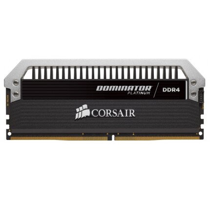 Corsair Dominator Platinum Series 64GB (4 x 16GB) DDR4 DRAM 2666MHz C15 Memory Kit