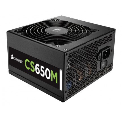 Corsair CS Series Modular CS650M - 650 Watt 80 PLUS Gold Certified PSU