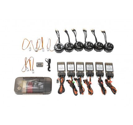 DJI E800 (6 Motor/ESC; 5 pair props; Accessories pack; Updater for ESC)