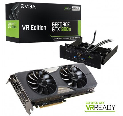 EVGA GeForce GTX 980 Ti VR EDITION GAMING ACX 2.0+ Graphics Card