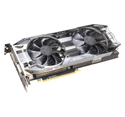EVGA GeForce RTX 2070 Black Gaming, 08G-P4-1071-KR, 8GB GDDR6, Dual HDB Fans Graphics Card