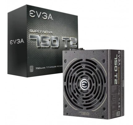 EVGA SuperNOVA T2 80+ Titanium Fully Modular Power Supply