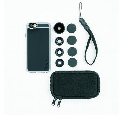 ExoLens Case (4-Lens Kit) for iPhone 6/6s