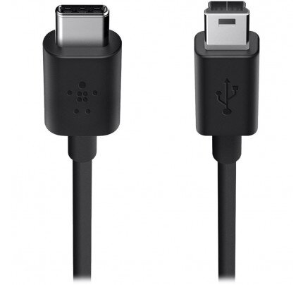 Belkin 2.0 USB-C to Mini-B Charge Cable (Also Known as USB Type-C)