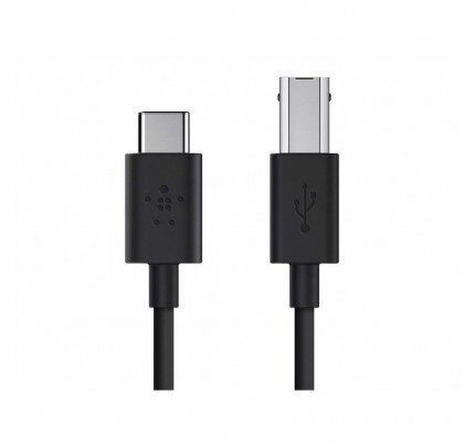 Belkin 2.0 USB-C to USB-B Printer Cable (Also Known as USB Type-C)
