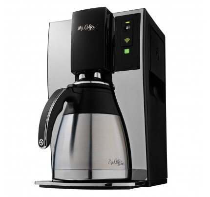 Belkin Mr. Coffee 10-Cup Smart Optimal Brew Coffeemaker with WeMo