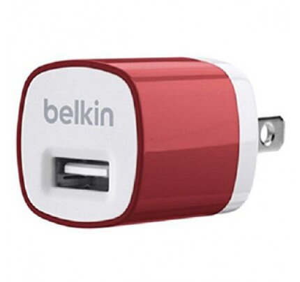 Belkin MIXIT Home Charger for iPhone 6, iPhone 6 Plus, iPhone 5/5s (5 Watt/1 Amp)