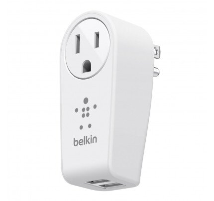 Belkin BOOST UP 2-Port Swivel Charger + Outlet