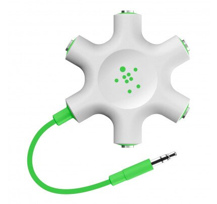 Belkin RockStar 5-Jack 3.5 mm Audio Headphone Splitter