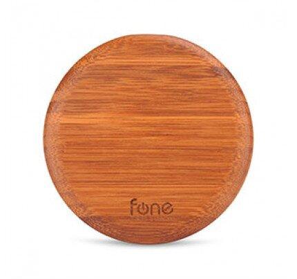 Fonesalesman WoodPuck: Bamboo Edition Wireless Charger