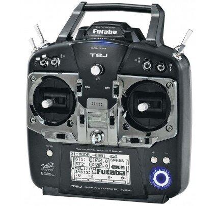 Futaba 8J 8-Channel 2.4Ghz Radio S‑FHSS, FHSS System
